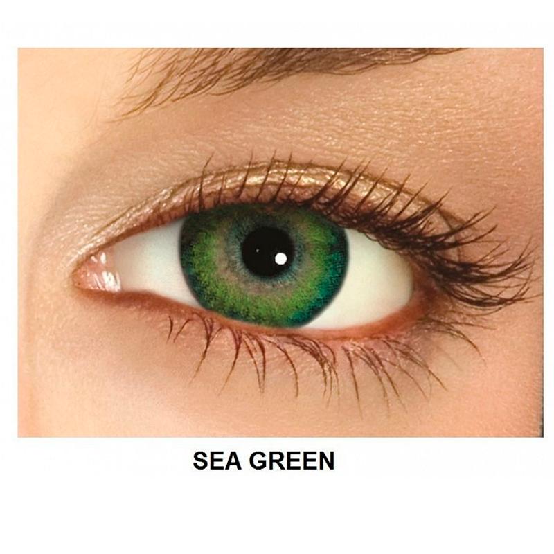 Freshlook Dimensions Sea Green >> FreshLook Dimensions (6 Linsen)