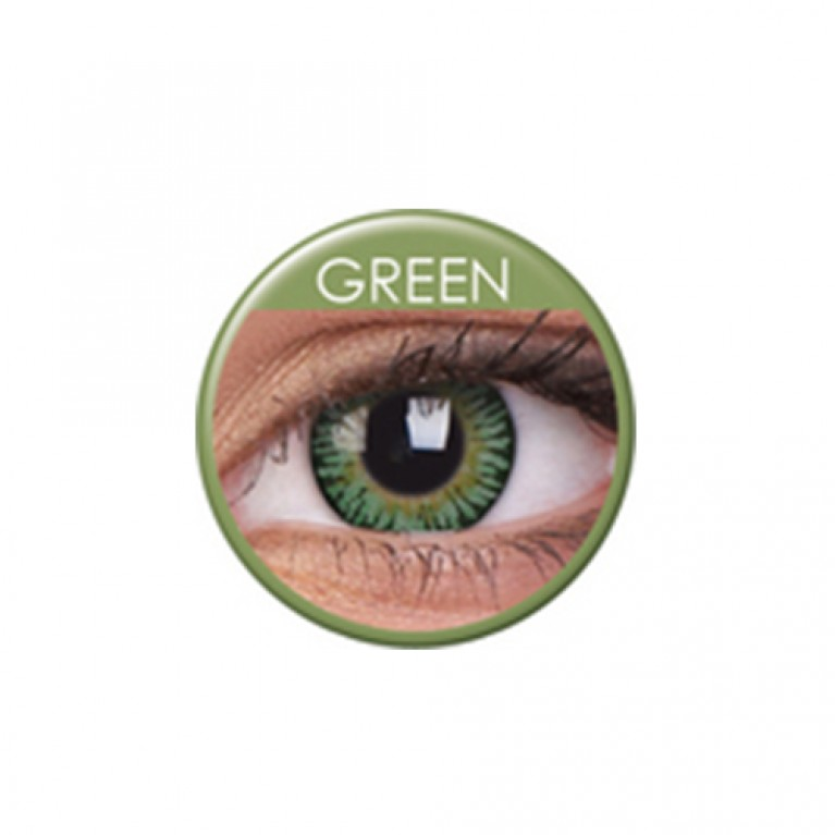 3 Tones Green ohne Stärke, (2 Linsen), 0 dpt
