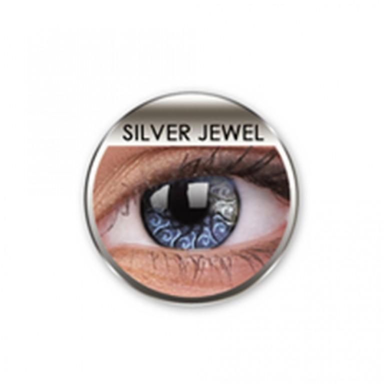 Stars&Jewel Silver Jewel ohne Stärke, (2 Linsen), 0 dpt