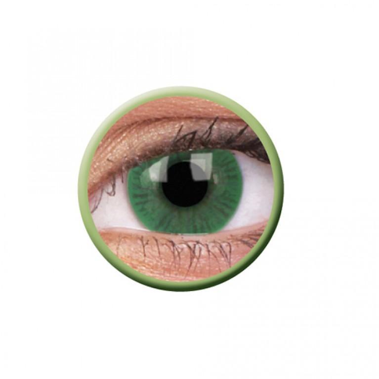 Basic Green ohne Stärke, (2 Linsen), 0 dpt
