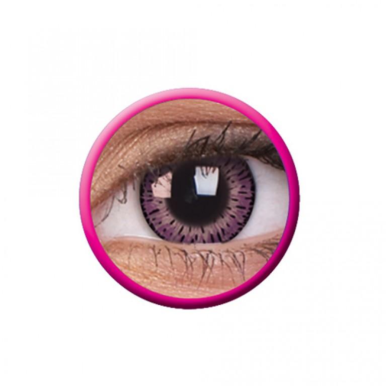 Elegance Pink ohne Stärke, (2 Linsen), 0 dpt