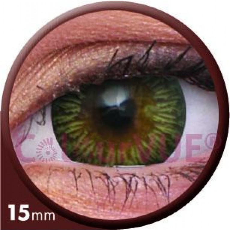 Big Eyes Enchanter Brown ohne Stärke, (2 Linsen), 0 dpt