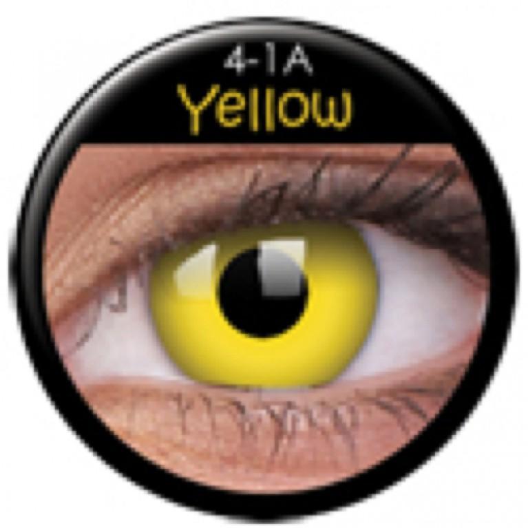 Funny Lens Yellow ohne Stärke