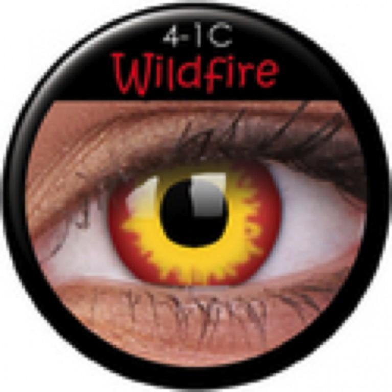 Funny Lens Wildfire mit Stärke