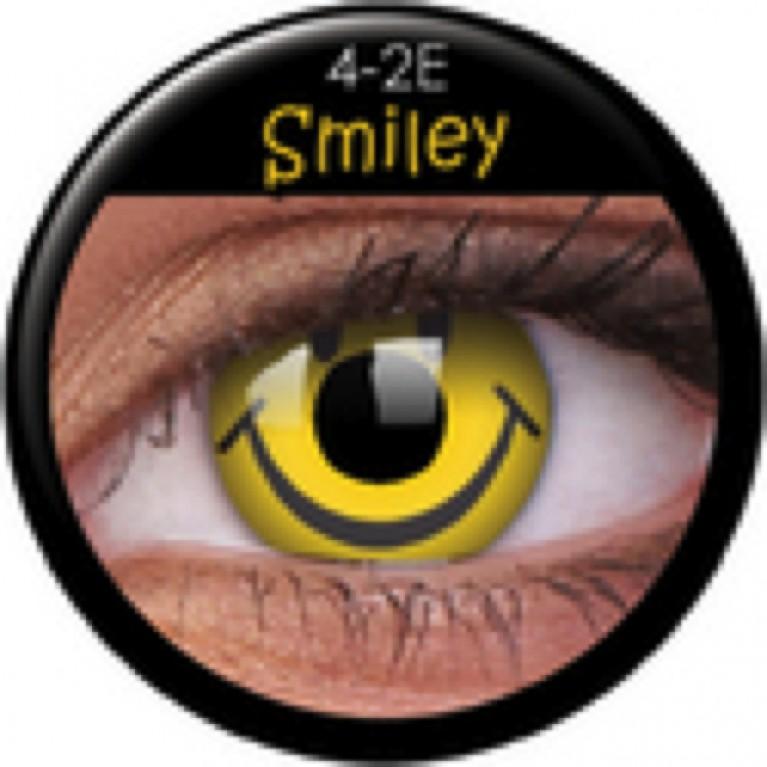 Funny Lens Smiley ohne Stärke