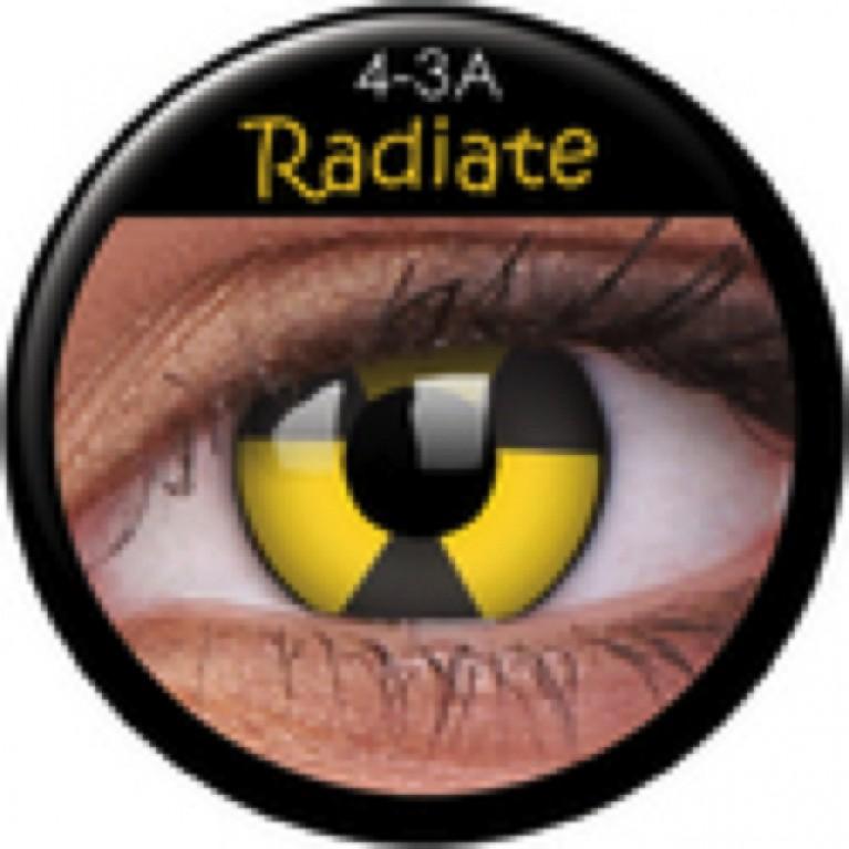 Funny Lens Radiate ohne Stärke