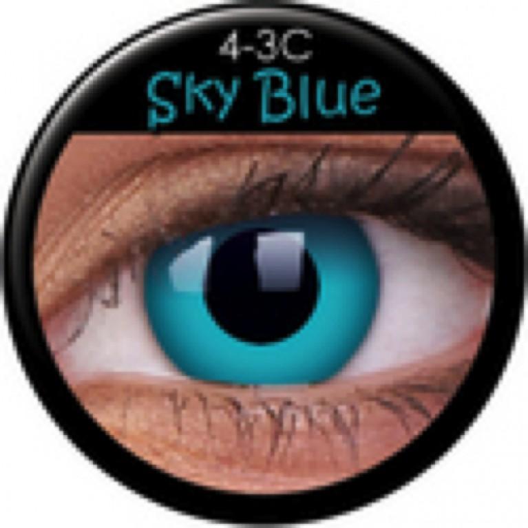 Funny Lens Sky Blue mit Stärke