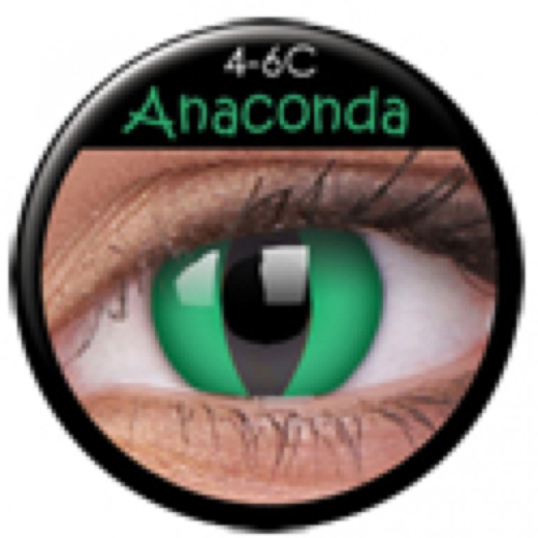 Funny Lens Anaconda ohne Stärke