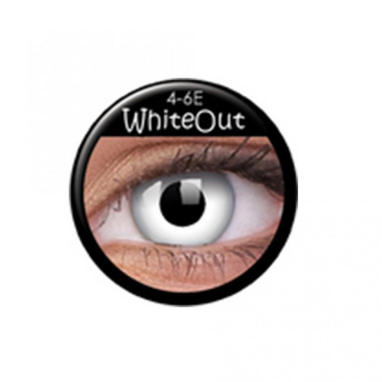 Funny Lens Whiteout TAGESLINSEN ohne Stärke