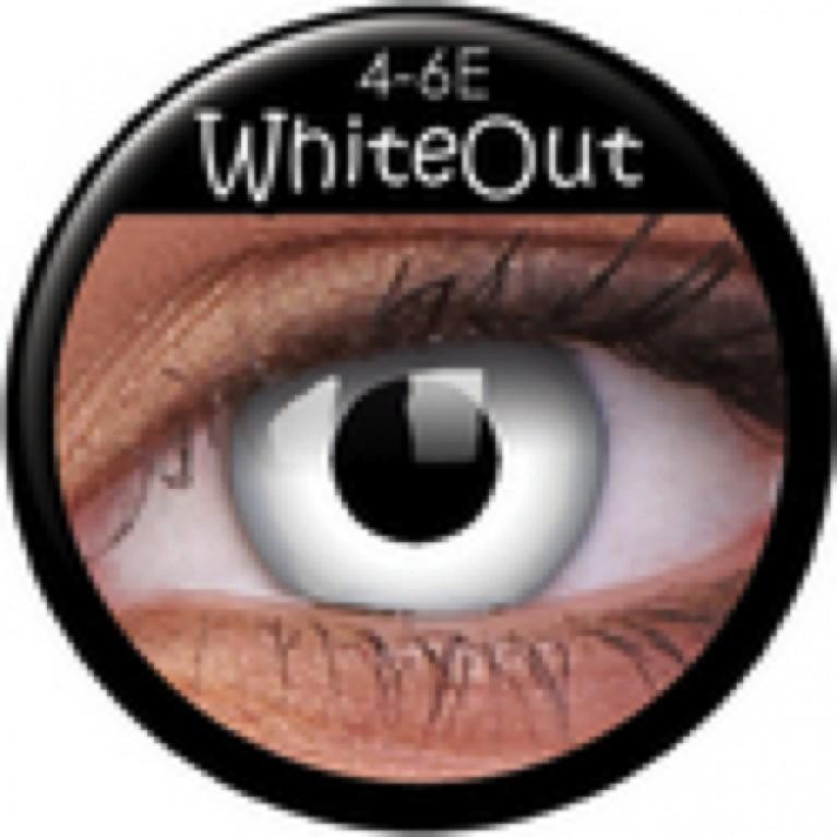 Funny Lens Whiteout mit Stärke
