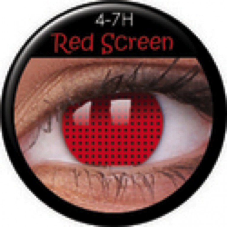 Funny Lens Red Screen ohne Stärke