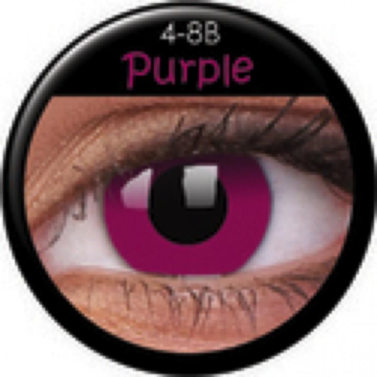 Funny Lens Purple ohne Stärke