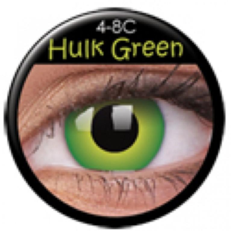 Funny Lens Hulk Green ohne Stärke
