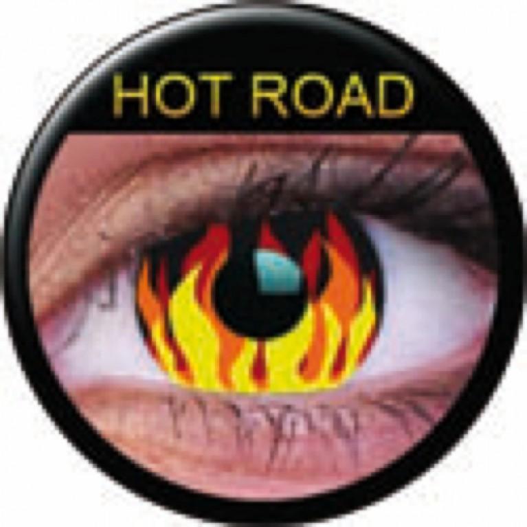 Funny Lens Flame Hot ohne Stärke