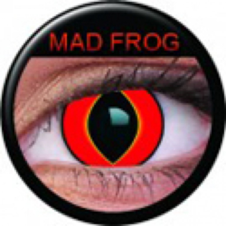 Funny Lens Mad Frog ohne Stärke