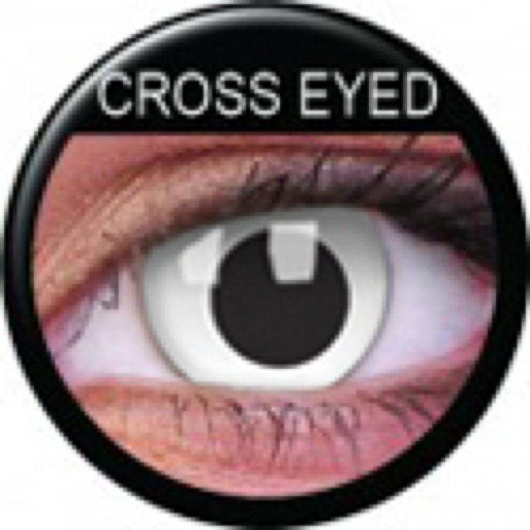 Funny Lens Cross Eyed ohne Stärke