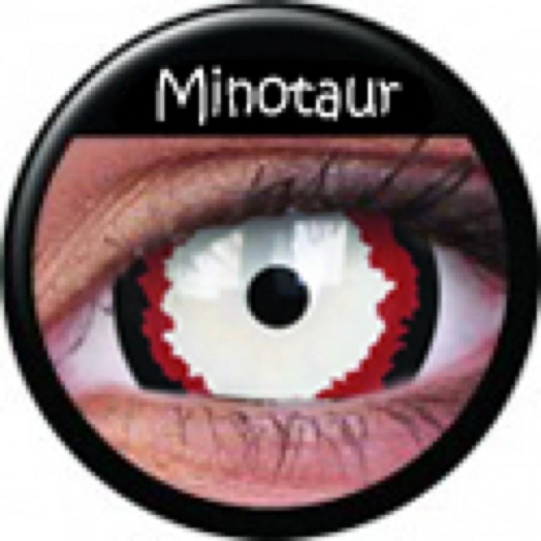 Mini-Sclera Minotaur ohne Stärke, (2 Linsen), 0 dpt