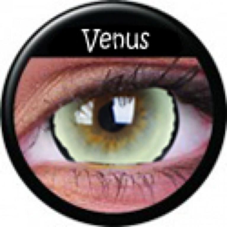 Mini-Sclera Venus ohne Stärke, (2 Linsen), 0 dpt