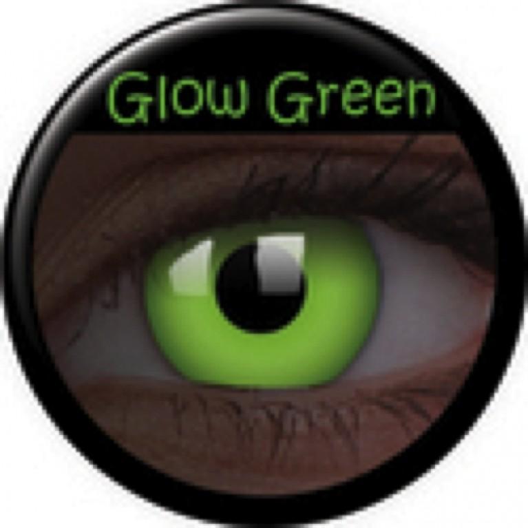 Glow Green ohne Stärke, (2 Linsen), 0 dpt