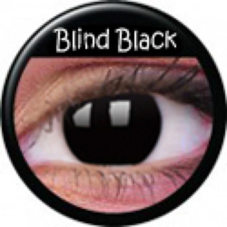 Funny Lens Blind Black ohne Stärke