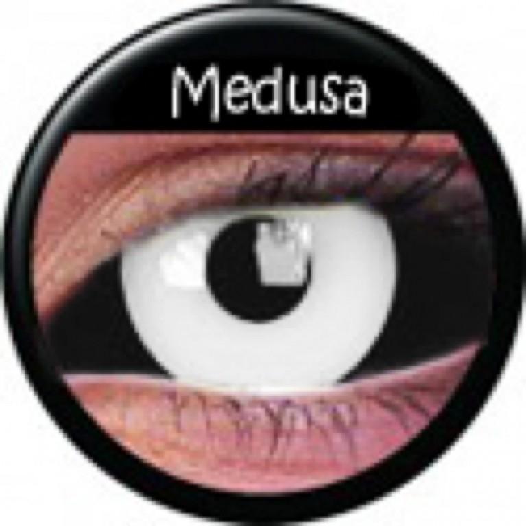 Sclera Medusa ohne Stärke, (2 Linsen), 0 dpt