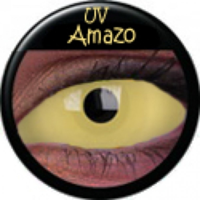 Sclera UV Amazon ohne Stärke, (2 Linsen), 0 dpt