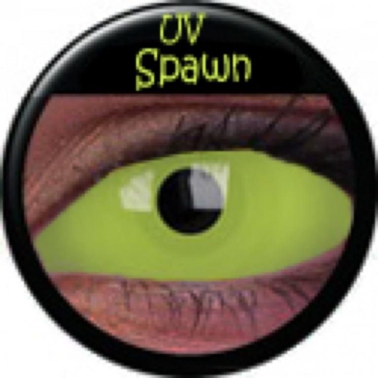 Sclera UV Spawn ohne Stärke, (2 Linsen), 0 dpt