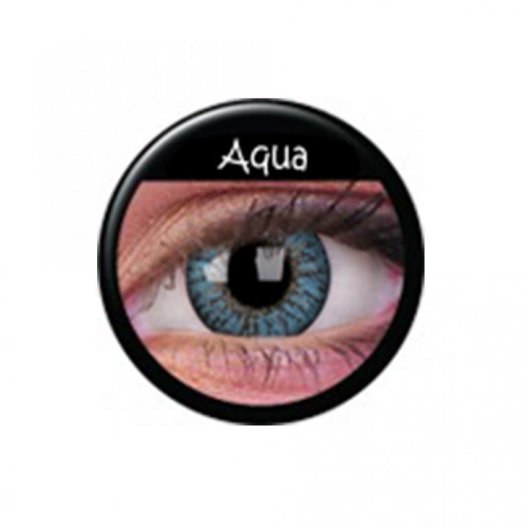 TruBlends Aqua ohne Stärke, (2 Linsen), 0 dpt