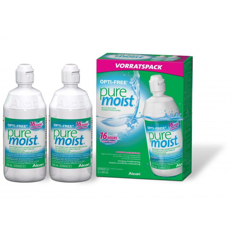 Opti-Free® Pure Moist® 2 x 300 ml von Alcon