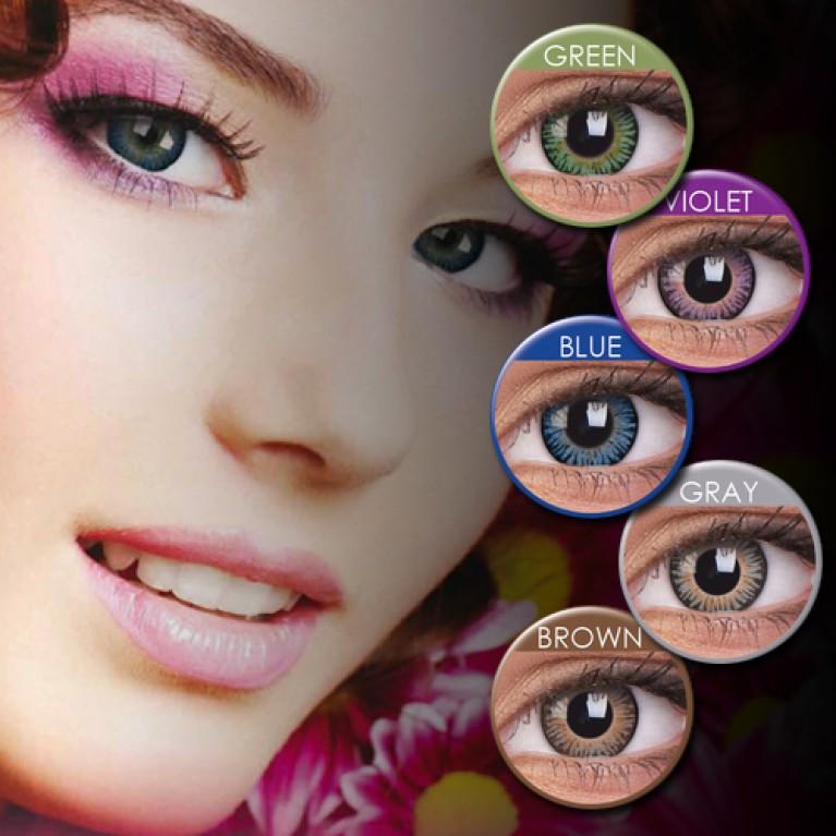 ColourVUE 3 Tones Farblinsen ohne Stärke