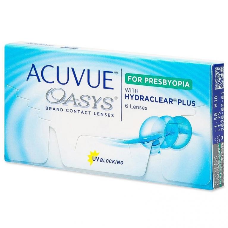 Acuvue Oasys for Presbyopia (6 Linsen)