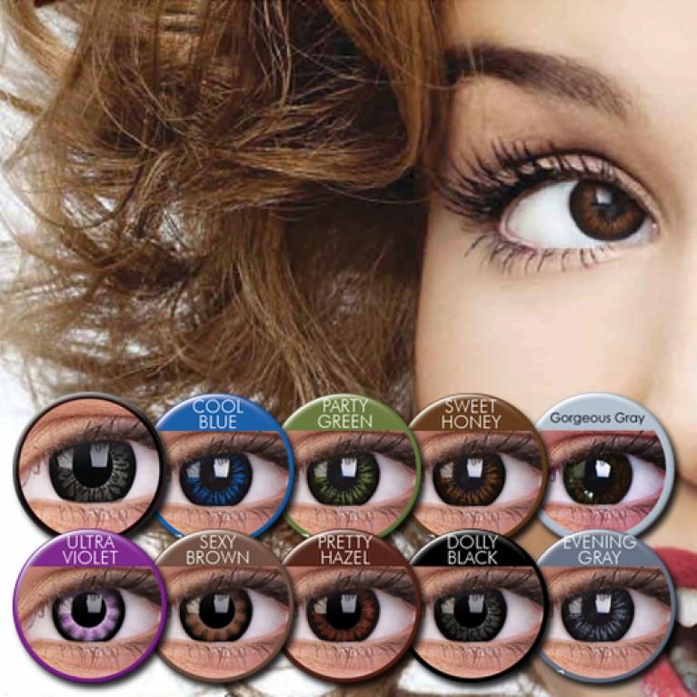 ColourVUE BIG EYES Farblinsen mit Stärke 15 mm