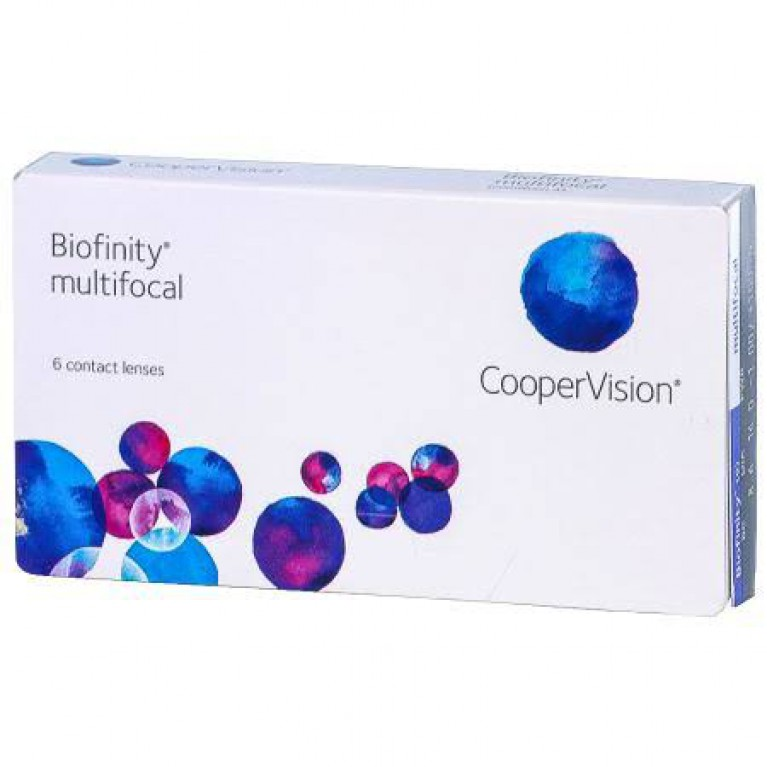 Biofinity Multifocal 6 Linsen