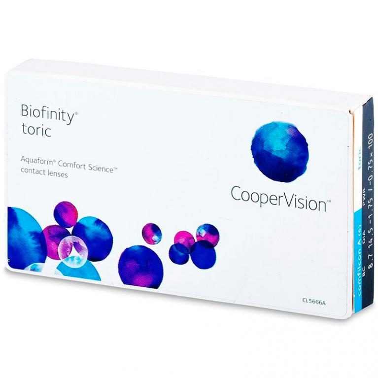 Biofinity Toric 6er