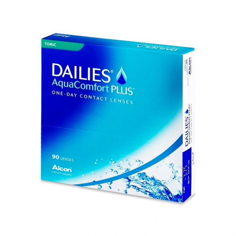 Dailies AquaComfort Plus Toric (90 Linsen)