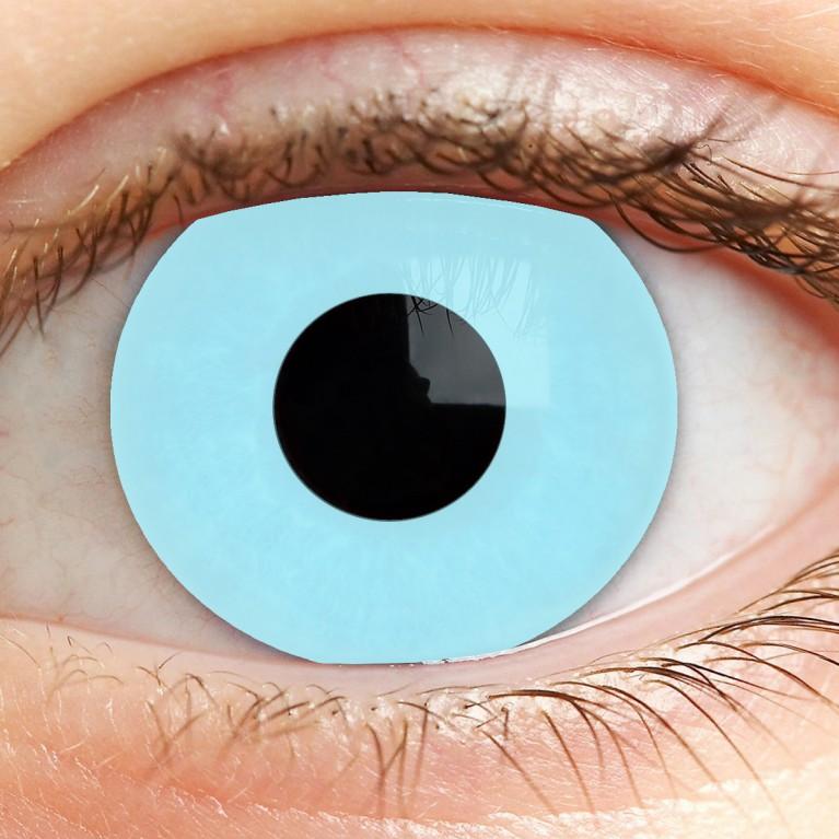 Funny Lens Blue ohne Stärke - Ice Blau