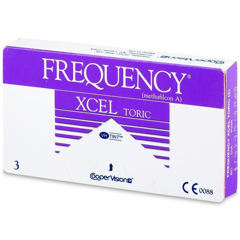 FREQUENCY XCEL TORIC (3 Linsen)