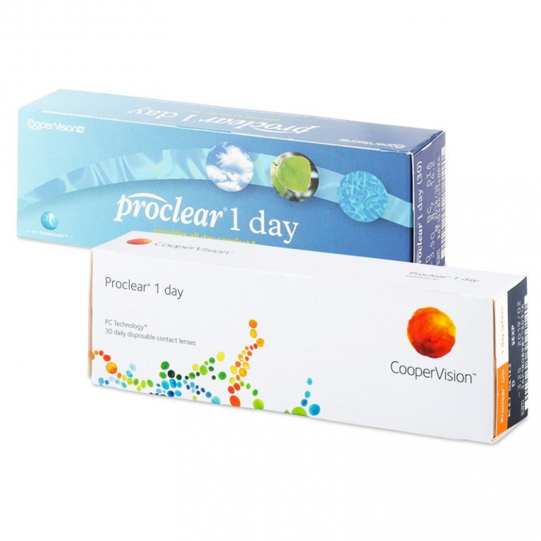 Proclear 1 Day (30 Linsen)