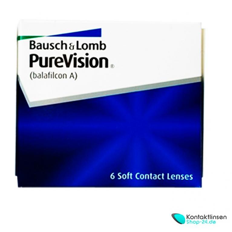 PureVision von Bausch & Lomb (6 Linsen)