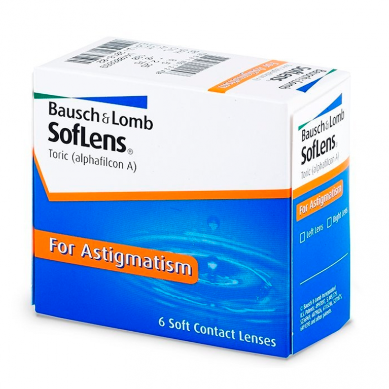 Soflens Toric for Astigmatism (6 Linsen)