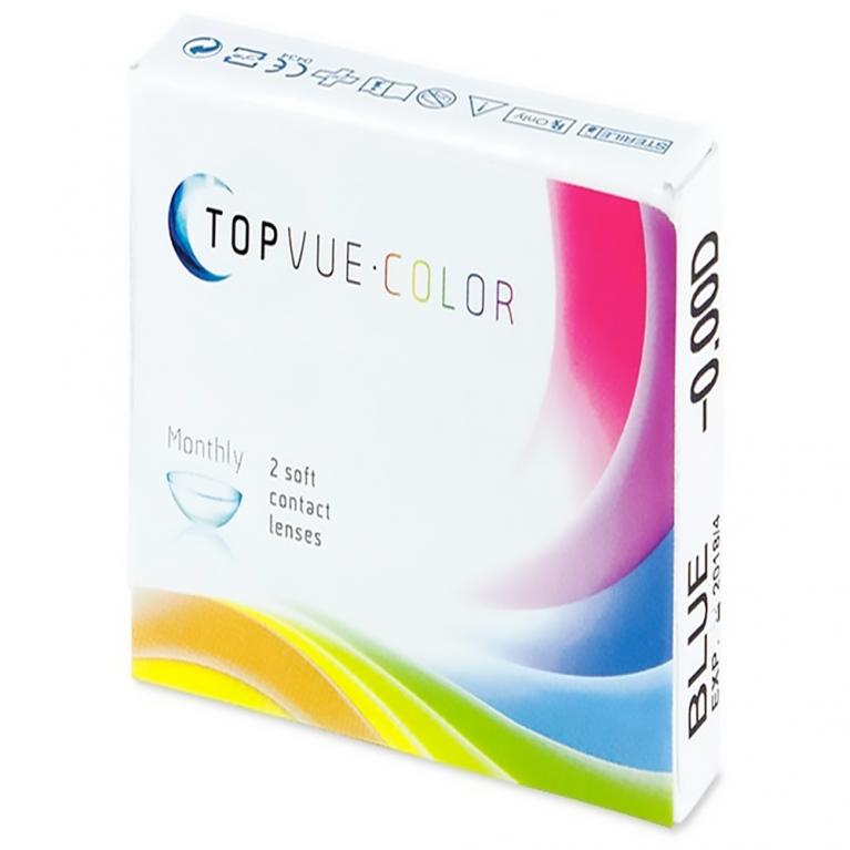 TopVue Color – ohne Stärke (2Linsen)
