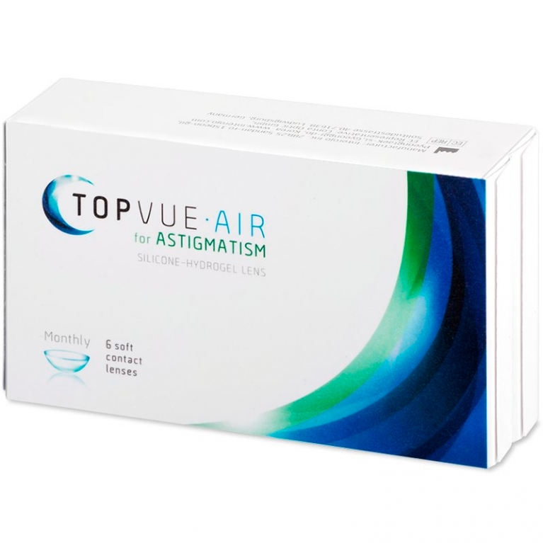 TopVue Air for Astigmatism (6 Linsen)