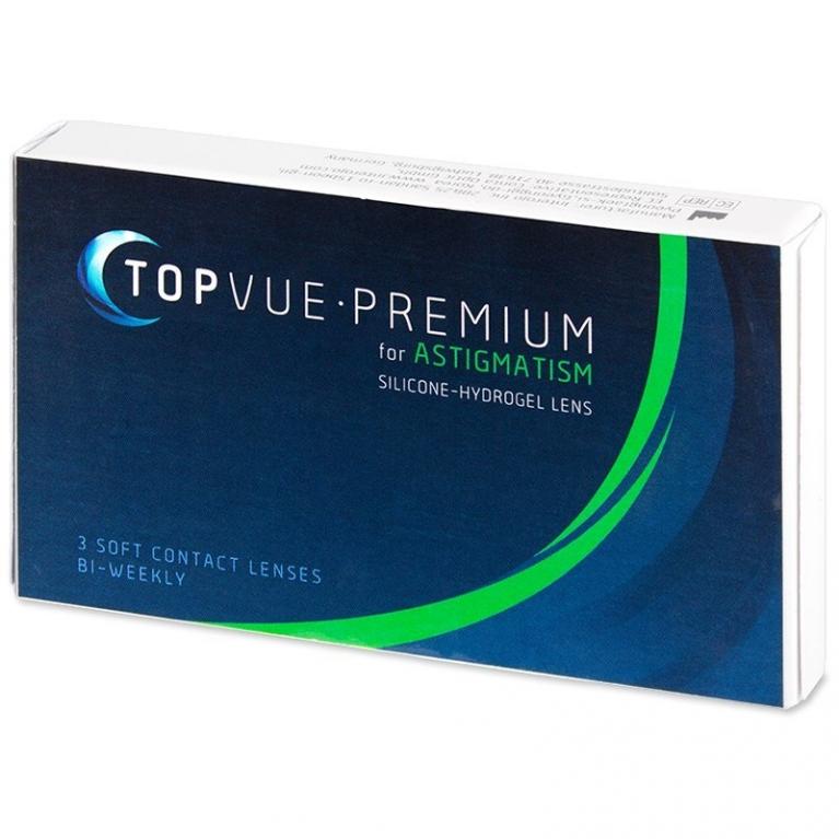 TopVue Premium for Astigmatism (3 Linsen)