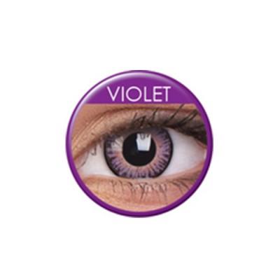 3 Tones Violet ohne Stärke, (2 Linsen), 0 dpt