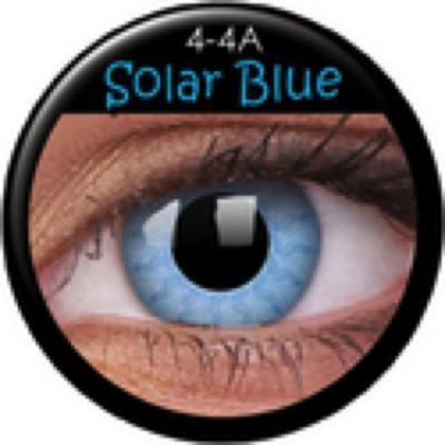 Funny Lens Solar Blue mit Stärke