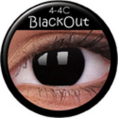 Funny Lens Blackout mit Stärke