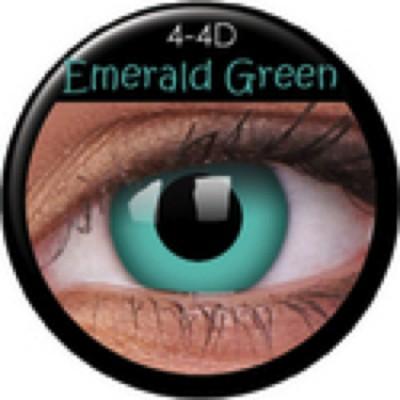 Funny Lens Emerald Green ohne Stärke