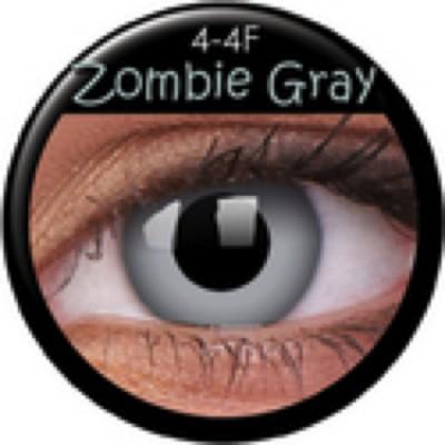 Funny Lens Zombie Gray mit Stärke