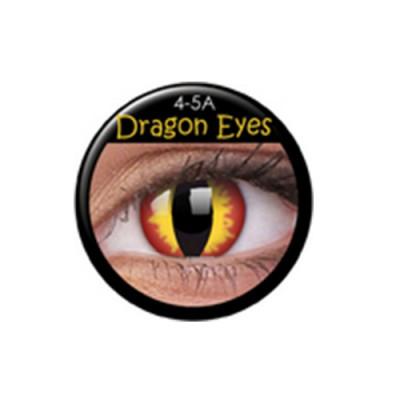Funny Lens Dragon Eyes TAGESLINSEN ohne Stärke