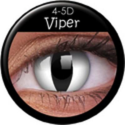 Funny Lens Viper mit Stärke